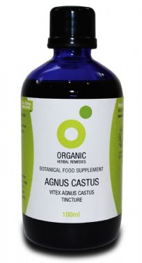 Organic Agnus Castus Tincture | Vitex Drops | Chaste Tree Berry Extract